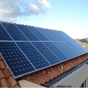 Standard 750VA off grid solar system with 400 watts Panel , Solar Combos