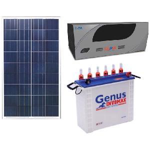 Genus Solar Kit 100W X 3 Solar Panel+900 Va Pcu+150 Ah Solar Battery