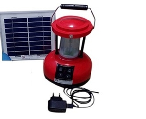 Tracksun 360 Degrees Solar Lantern Red 3 Watt
