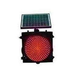 Nte Nte20 Solar Based Led Traffic Blinker Red