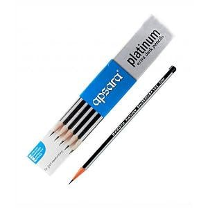 Apsara Platinum Extra Dark Pencil Pack Of 10 730-132743037