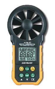 Metravi Avm-03 Digital Thermo Anemometer 0.8 To 40 M/S