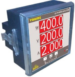 Yokins Dc Power Analyzer, Dc Energy Meter, Dc Kwh Meter, 75mv Shunt Selectable 200v Dc
