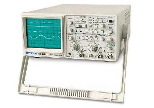 Metravi Os-5060 Dual Channel Four Trace Cathode Ray Oscilloscope With Probes 60 Mhz