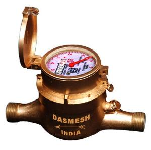 Dasmesh Multijet 25mm Cold Water Flow Meter Screwed End Class-A