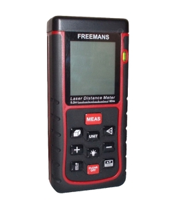 Freemans 60 M Or 198 Ft Laser Distance Meter 60m