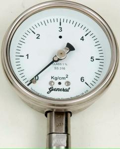 General Range 0-21 Kg/cm2 Dial Size 152mm or 6 Inch Dry Pressure Gauge
