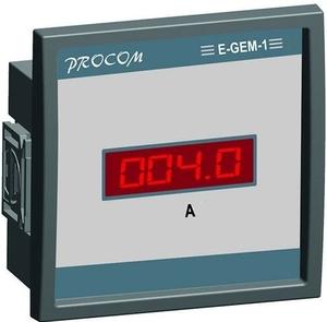 MRM GEM-3-I 50mA - 6 A Class 1 Single Phase Digital Ammeter