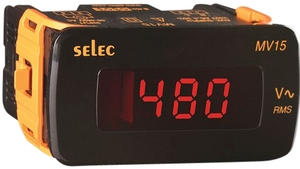 Selec Mv15-Dc-200v Digital Panel Mili Voltmeter