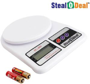 Stealodeal Sf400-D 1 Kg Rectangle Platter High Quality Multipurpose Jewellery Weighing Scale