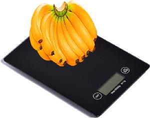 Stealodeal Tsbw-01 5 Kg Touch Screen Black Electronic Digital Glass Weighing Scale