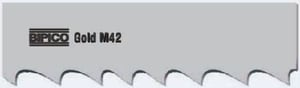 Bipico M42 Gold (13x0.65 Mm, Tpi Constant 18) Bimetal Band Saw Blade