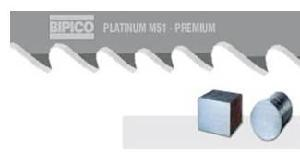 Bipico M51 Platinum 34x1.10 Mm Bimetal Band Saw Blades 3760 Mm 4/6 Tpi