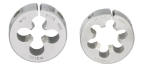 Totem Metric Hss Circular Split Dies (Outer Dia 3 Inch Thickness 0.875 Inch)