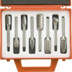 Kennedy Industrial Carbide Burr Set 8 Pcs KEN2109880K