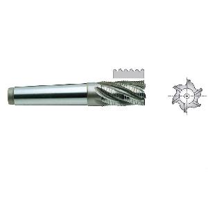 Yg1 E2778200 Roughing End Mill 4 Flute Morse Taper Shank Short Series (20 Mm)