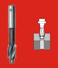 Indian Tools Counter Bore With Integral Pilot (Cutter Dia 8.00 Mm, Pilot Dia 4.50 Mm)