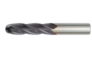 Widia Extra Long Length 4 Flute Solid Carbide Ball Nose Endmill (Cutting Dia 3 Mm)
