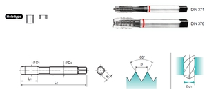 Yg1 Tc283396 Spiral Point Tap (Thread Length 90 Mm)