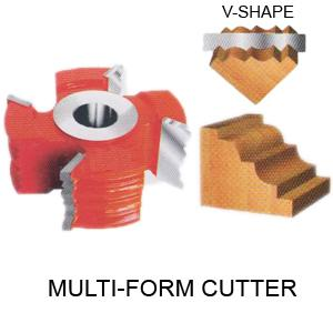 Perfect Tools 4t Multi Form Cutter Dia.108mm Thickness 25mm Code No.1091-A