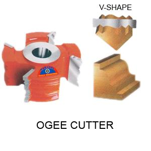 Perfect Tools 3t Ogee Cutter Dia.108mm Thickness 120mm Code No.1130-C