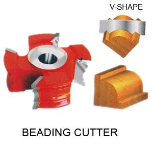 Perfect Tools 4t Beading Cutter Dia.108mm Thickness 25mm Code No.1071