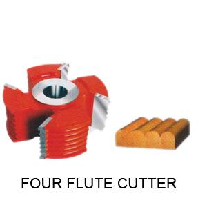 Perfect Tools 3t Four Flute Cutter Dia.108mm Thickness 45mm Code No.1032