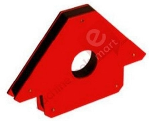Metal Arc Magnetic Position Holder  Steel Red Powder Coated Mph5