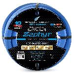 Zephyr Rubber Garden Hose - With Brass End-Fittings (3/4 In X 15 Ft)