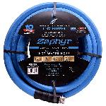 Zephyr Rubber Garden Hose - With Brass End-Fittings (1 In X 50 Ft)