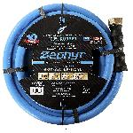 Zephyr Rubber Garden Hose - With Brass End-Fittings (1.2 In X 15 Ft)
