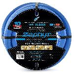 Zephyr Rubber Garden Hose - With Brass End-Fittings (3/4 In X 25 Ft)