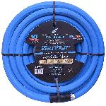 Zephyr Rubber Garden Hose - With Brass End-Fittings (1 In X 100 Ft)