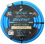 Zephyr Rubber Garden Hose - With Brass End Fittings (3/4 In X 50 Ft)