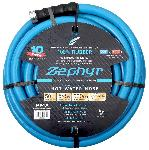 Zephyr Rubber Garden Hose - With Brass End Fittings (5/8 In X 50 Ft)