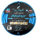 Zephyr Rubber Garden Hose - With Brass End Fittings (1/2 In X 100 Ft)
