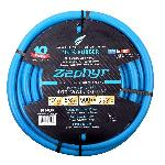 Zephyr Rubber Garden Hose - With Brass End Fittings (5/8 In X 100 Ft)