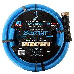 Zephyr Rubber Garden Hose - With Brass End Fittings (1/2 In X 25 Ft)