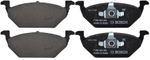 Bosch Brake Pad Kit For Skoda Octavia F002H236068F8