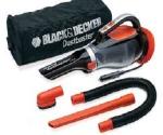 Black & Decker ADV1220-12V Dustbuster Auto Hand Vac With Accessory Kit