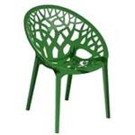 Nilkamal Crystal Chairs - Lime Green - Crystal PP