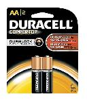 BATTERY,NON RECHARGEABLE, TYPE:PENCIL,EXTRA HEAVY DUTY, Duracell, 1.5V, SIZE:AA (R6)