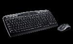 Logitech Wireless Keyboard Black - MK330