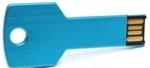 IB Basics Metal Key Shape Waterproof Blue Color 16 GB Pen Drive