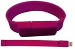 IB Basics Pink Color Silicone Bracelet Flash 32 GB Pen Drive