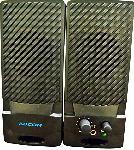 Standard Adcom Multimedia Speaker | 2.0 Wired Speaker System | AD - 1500 | Black Silver