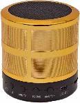 Standard W-87 Bluetooth Speaker With Metallic Body-Golden 4 W Bluetooth Speaker(Golden