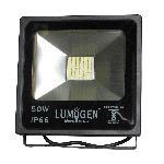 LumoGen 50 Watt SMD Led Flood Light Warm White Heavy Duty