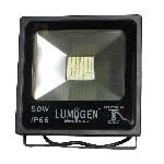 LumoGen 50 Watt SMD Led Flood Light Cool White Heavy Duty