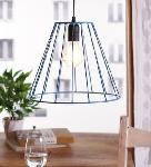 Noble Electricals Lave Blue Cage Pendant Light NED11.48